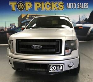 2014 Ford F-150 FX4 LUXURY, LEATHER, SUNROOF, NAVI, 20'S!