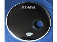 "Evans 22"" Emad Resonator Bass Drum Head."