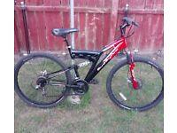 Muddy Fox mountain bike ,26 inch wheels