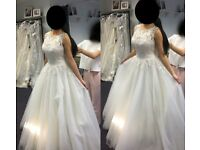 Sincerity 3804 Designer Bridal Wedding Dress Size 8-10 UK