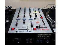 Allen & Heath Xone 32 dj mixer for sale