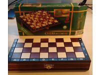 Wooden Chess set (never used just taken out of packaging)