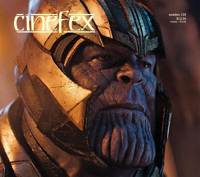 CINEFEX #159 Avengers Infinity War READY PLAYER ONE Pacific Rim ANNIHILATION New