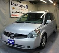 2007 Nissan Quest Very recent trade well maintained. Call today