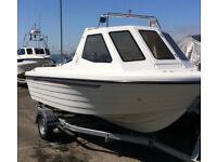 Warrior boats 165 Mk ll fishing boat