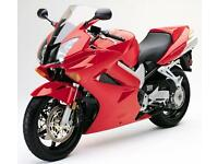 Sports tourer Kawasaki zx12, Honda blackbird Honda vfr or similar