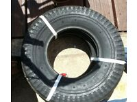 BARGAIN. Two trailer tyres - new