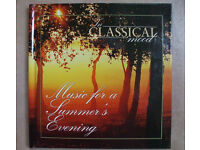 IN CLASSICAL MOOD 2 x CDS & BOOK-REFLECTIONS & MUSIC FOR A SUMMER'S EVENING