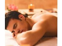 Mobile male masseur for stress relief