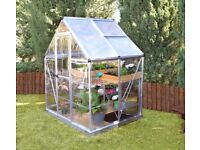 Polycarbonate Greenhouse 6'x4'
