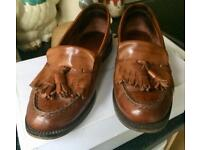 Russell and Bromley leather loafers size 37/4