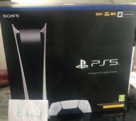 PS5 Digital Edition BNIB
