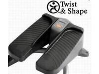 Twist & Shape Stepper Exercise machine Used