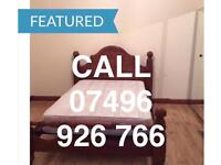 LOVELY LARGE CLEAN KING SIZE DOUBLE ROOM & VERY LARGE SINGLE ROOM TO LET NEAR STATION