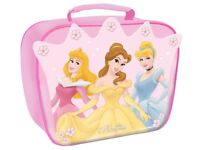 BNWT Disney Princess Insulated Cooler Lunch Bag Pink Back to School Nursery