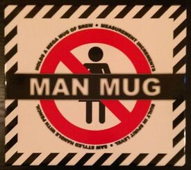 Porcelain 'Man Mug' (new)