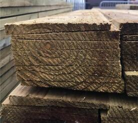🌲WOODEN TANALISED FEATHER EDGE FENCING PANELS: PIECES: BOARDS - VARIOUS SIZES AVAILABLE