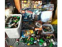 Lego job lot - sea cow 70810 - super heros - dinos