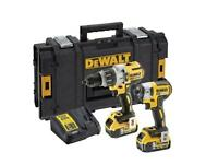 DEWALT BRUSHLESS TWIN PACK - BRAND NEW NEVER USED - DCK276P2