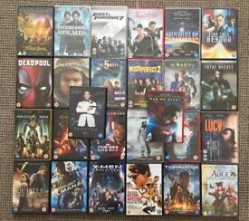 Job lot DVDs (26 in total)