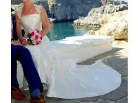 Size 10 Ivory Wedding Dress