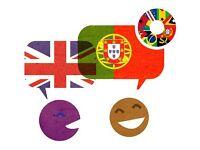 Portuguese/English language Lessons and Tuition, B.A. English Language Teaching and Linguistics