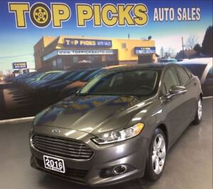 2016 Ford Fusion SE, SPORT PACKAGE, HEATED SEATS, ALLOYS!