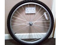 Mountain bike front wheel