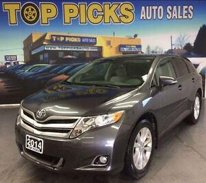 2014 Toyota Venza AWD,  LOW MILEAGE , ONE OWNER!