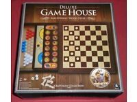 'Deluxe Game House' Board Game (new)
