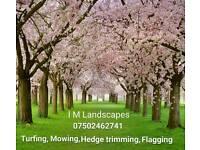 Gardening, Tree cutting, Hedge Trimming, Flagging and Jetwashing