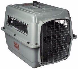 dog pet travel airline crates carrier cage vari kennel pet mate travel airport crates
