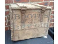 Booths Finest Old Dry Gin Vintage Box