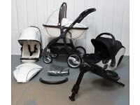 Babystyle egg Travel system in Arctic White colour. GREAT CONDITION