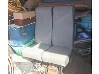 Double vw transporter seat