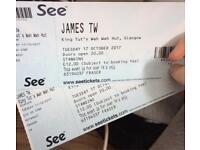 2 James TW tickets