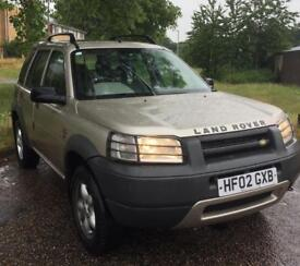 2002 Land Rover 1.8 Freelander ES, Long MOT