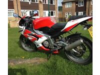 Aprilia rs125 2010 low miles check it out