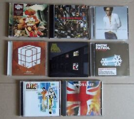 CD Job Lot : *8 CD's Oasis *The Who * Air * Elbow *The Stone Roses * Arctic Monkeys*
