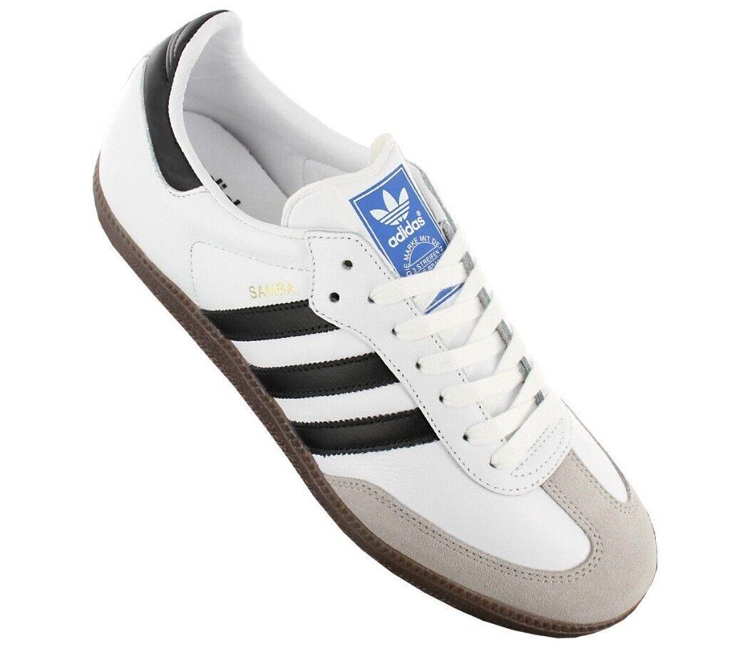 d817f44d2 Adidas Originals Samba OG Trainers Footwear White/Core Black/Clear Granite;  BRAND NEW IN BOX; Size 7
