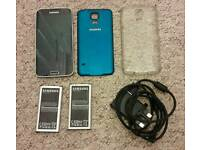 Samsung Galaxy S5 Unlocked with extras