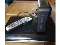 Sky box Router and remote