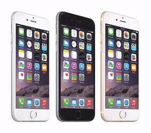 "Iphone 6-16GB,64GB ""New in Box - Unlocked"" w/Warranty@369.99$,429.99$ & 479.99$""We are 5 Stores""Samsungs Available too"