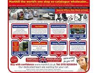 START YOUR OWN BUSINESS - JOB LOTS, RETURNS, SURPLUS, FOR CAR BOOT, EBAY,CASH & CARRY, WHOLESALERS