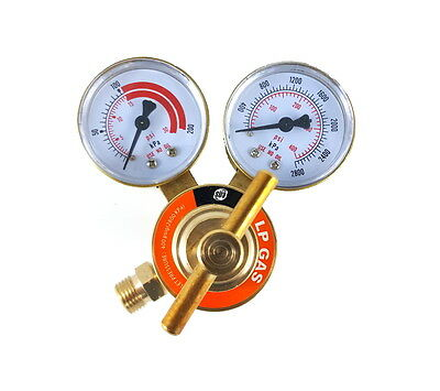 Sa - Propane Regulator Welding Gas Gauges - Cga-510 - Rear Connector - Ldb