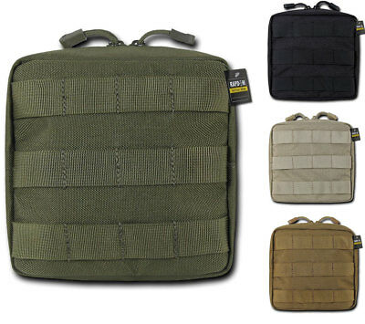 - RapDom Compact Utility Pouch Bag Travel Tactical Gear Military Army MOLLE 6x6