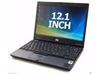 FAST CHEAP HP DUAL CORE 2 GB RAM LAPTOP 12 INCH WINDOWS 7 OFFICE WARRANTY