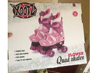 xootz xoo girls quad roller skates (reduced)
