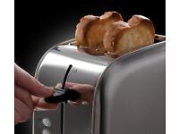 Russel Hobbs Stainless Steel Futura Toaster - 2 Slice
