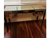 Laura Ashley gatsby mirrored dressing table/console